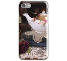 Tea Time Two iPhone Case/Skin