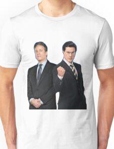 Jon Stewart - Stephen Colbert - The Daily Show - The Colbert Report Unisex T-Shirt