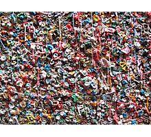 Gum Wall Photographic Print