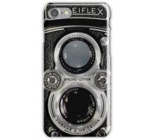 Vintage Rolleiflex Automat MX-EVS Model K4B Twin Lens Film Camera iPhone Case/Skin