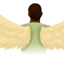 Actual Angel Sam Wilson by felixfelicitas