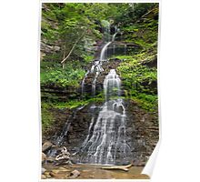 West Virginia's Cathedral Falls Poster