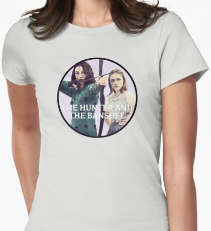 Hunter and the Banshee Womens Fitted T-Shirt