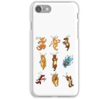 Santa's Reindeer iPhone Case/Skin