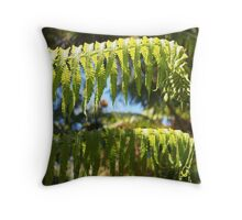 Fern: Hawai'i Volcanoes National Park Throw Pillow