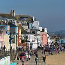 Snakes and Ladders in Lyme Regis by Larry Lingard-Davis