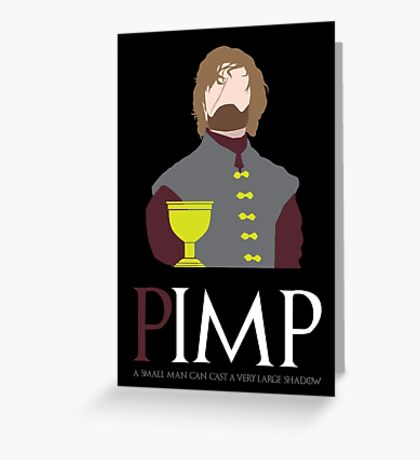 PIMP the IMP Greeting Card
