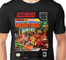 Donkey Kong Country Poster Unisex T-Shirt