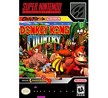 Donkey Kong Country Poster Photographic Print