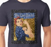 glitter rosie the riveter Unisex T-Shirt