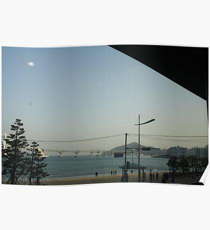 Busan Coast Poster