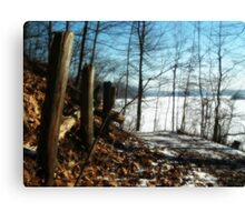 Fence Canvas Print