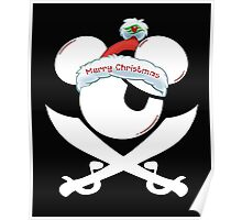 Minnie Pirates T-Shirt Small Cranberry Poster