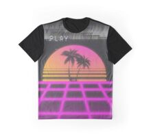 Neon Tropics Graphic T-Shirt