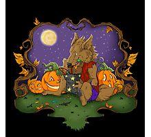 Werewolf Halloween  Photographic Print