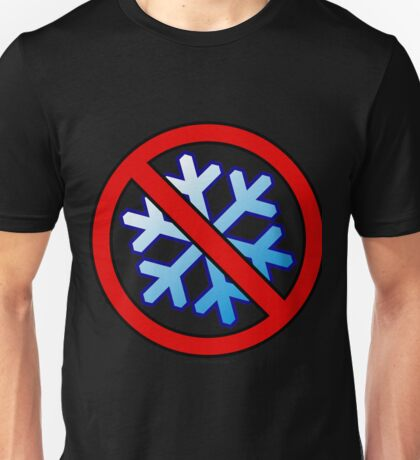 No Special Snowflakes - Red No Circle Symbol Unisex T-Shirt