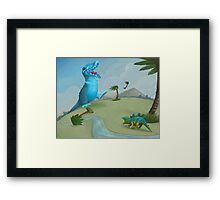 Gus and Dolly Framed Print