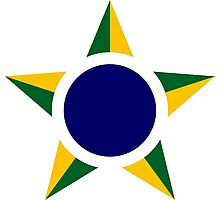Roundel of the Brazilian Air Force  Photographic Print