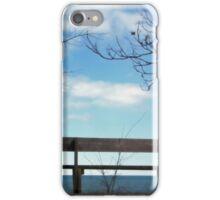 Bench On Beach iPhone Case/Skin