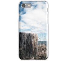 Stump On Beach iPhone Case/Skin