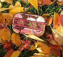 Autumn Vera Bradley Tech Case  by Grace314