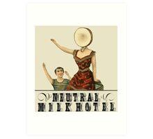 Neutral Milk Hotel - In the Aeroplane Over the Sea Art Print