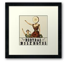 Neutral Milk Hotel - In the Aeroplane Over the Sea Framed Print