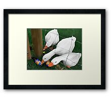 Silly Goose - Pop Art Surrealism Framed Print