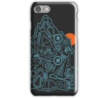 Outdoor Equipment Pattern  iPhone Case/Skin