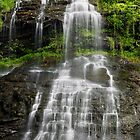 Cathedral Falls in West Virginia by Kenneth Keifer