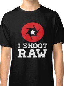 I Shoot RAW - Funny Photography Photographer Gift T-Shirt Classic T-Shirt