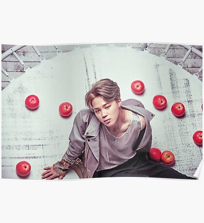BTS Wings Jimin Poster