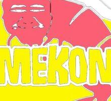 Kamekona's T-shirt Sticker