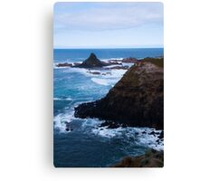 Cool coastal days (portrait) Canvas Print