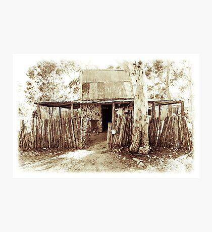 Vintage House Photographic Print