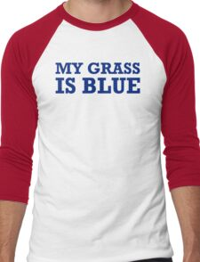 Blue grass T-shirt country music shirt cool tshirt harmonica banjo shirt Shirt (also available on crewneck sweatshirts and hoodies) SM-6XL Men's Baseball ¾ T-Shirt