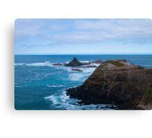 Cool coastal days (landscape) Canvas Print