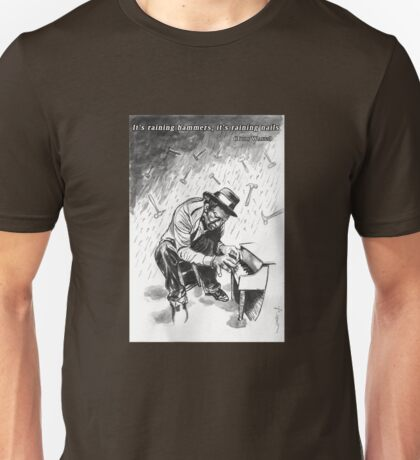 Tom Waits - Illustration Unisex T-Shirt