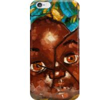 """Nothing to Fix"" (African Baby Doll) iPhone Case/Skin"