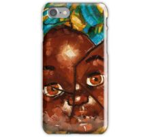 """""""Nothing to Fix"""" (African Baby Doll) iPhone Case/Skin"""