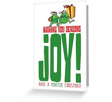 The Joyful TerribleTwo! Greeting Card