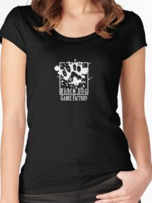 Subsidiary: Black Dog Game Factory Women's Fitted Scoop T-Shirt