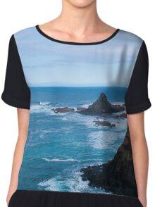 Cool coastal days (landscape) Chiffon Top