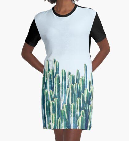 Cactus V2 #redbubble #home #lifestyle #buyart #decor Graphic T-Shirt Dress