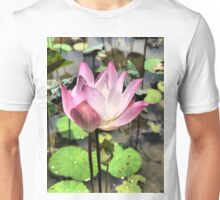 The Delicacy of a Water-lily Unisex T-Shirt
