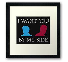 By My Side Framed Print
