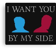 By My Side Canvas Print