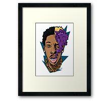 Wiz Khalifa Framed Print