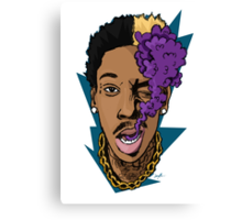 Wiz Khalifa Canvas Print