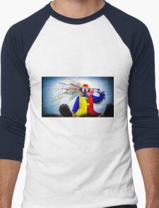 tears of a clown Men's Baseball ¾ T-Shirt